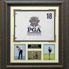 Jason Day 2015 PGA Championship Flag Collage Display.