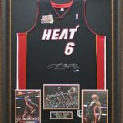 Lebron James Signed Jersey Framed Limited Edition