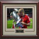 Arjen Robben 2013 Champions League Winner Trophy Framed Photo