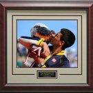 Novak Djokovic 16x20 Photo Wins Monte Carlo Framed