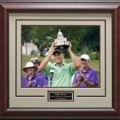 Bill Haas Wins AT&T National Framed Photo