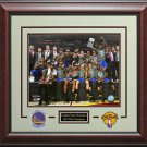 Golden State Warriors 2015 NBA Champions Photo Collage Display.