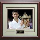 Novak Djokovic 2014 Wimbledon Champion Photo Display.