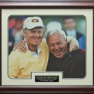 Jack Nicklaus & Arnold Palmer Hall of Fame Photo Framed