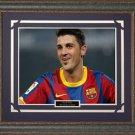 David Villa FC Barcelona Framed Photo