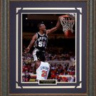 David Robinson Basketball Photo Framed