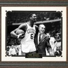 Bill Russell Photo Framed