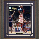 Hakeem Olajuwon Basketball Photo Framed