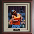 Serena Williams Wins The Madrid Open Framed Photo