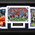 Peyton Manning Signed Denver Broncos Collage Framed