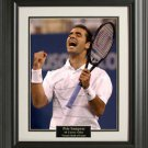 Pete Sampras Color 16x20 Photo Framed