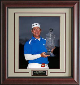 D. A. Points Wins Shell Houston Open 16x20 Photo Framed