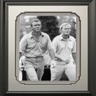 Arnold Palmer & Jack Nicklaus Framed 11x14 Photo