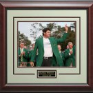 Bubba Watson 2014 Masters Champion Green Jacket Photo Framed
