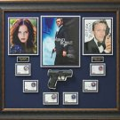 Casino Royale Autographed James Bond Display.