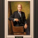 Dwight D Eisenhower Portrait 16x20 Photo Framed