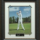 Ian Poulter Engraved Replica Signature Display Photo