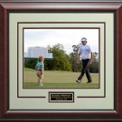 Bubba Watson 2014 Masters Champion Photo Display.