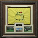2014 Masters Flag Framed Display