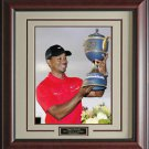 Tiger Wins WGC-Cadillac Championship Photo Framed