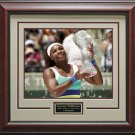 Serena Williams Wins Sony Ericsson 16x20 Photo Framed