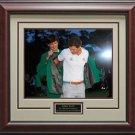 Adam Scott Green Jacket Ceremony 16x20 Photo Framed