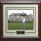 Zack Johnson Wins 2015 Open Champion Trophy 16x20 Photo Display.
