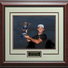 Dustin Johnson 2015 WGC Cadillac Champion 16x20 Photo Display.