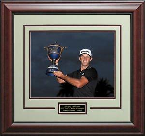 Dustin Johnson 2015 WGC Cadillac Champion 16x20 Photo Display.