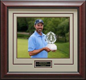 Matt Kuchar Wins Memorial Framed 11x14 Photo