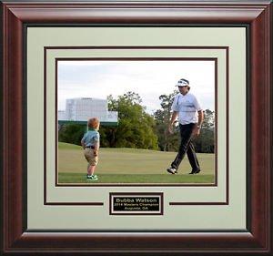 Bubba Watson 2014 Masters Champion 16x20 Photo Display.