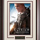 Elysium Framed Movie Poster