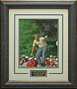 Jack Nicklaus Unsigned 11x14 Photo Framed