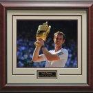 Andy Murray 2013 Wimbledon Framed 16x20 Photo
