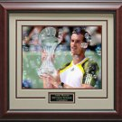 Andy Murray Wins Sony Ericsson Champion 16x20 Photo Framed
