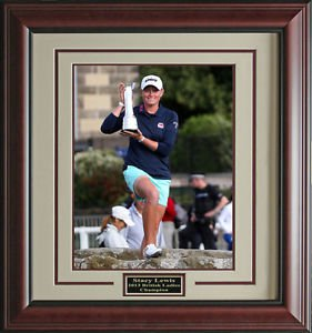 Stacy Lewis Wins 2013 British Open Champion Framed 11x14 Photo