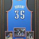 Kevin Durant Signed Oklahoma City Thunder Blue Jersey
