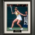 Chris Evert 11x14 Photo Framed
