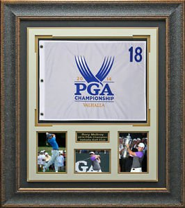 Rory McIlroy 2014 PGA Championship Flag Display.