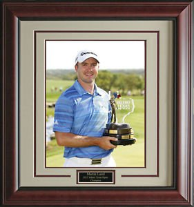 Martin Laird Wins Texas Valero Open 11x14 Photo Framed
