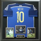 Lionel Messi Signed 2014 FIFA World Cup Argentina Jersey