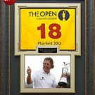 Phil Mickelson Wins British Open Framed Flag