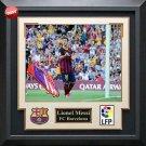 Lionel Messi Signed FC Barcelona Boot Framed