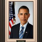 Barack H. Obama Portrait 16x20 Photo Framed