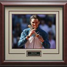 Rafael Nadal Wins Madrid Masters Framed 11x14 Photo