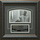 Nelson Mandela Photo With A Quote Framed