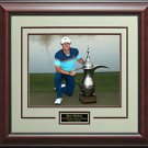 Rory McIlroy 2015 Dubai Desert Classic Champion 11x14 Photo Display.