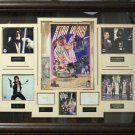 Thirtieth Anniversary Star Wars Poster Signed Collage Display.