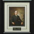 Harry S. Truman Portrait Photo Framed