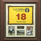 Phil Mickelson British Open Champion Flag Display